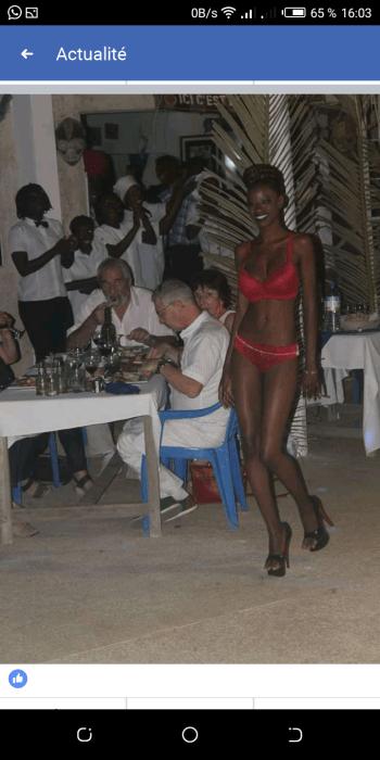 Screenshot_20190101-160334 31 décembre à Ndangane : Un Français organise un défilé avec des Sénégalaises presque nues (photos chocs)