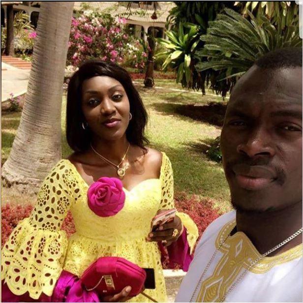 love Enfin Maman Mbaye s'affiche avec son mari Zargo (Photos)