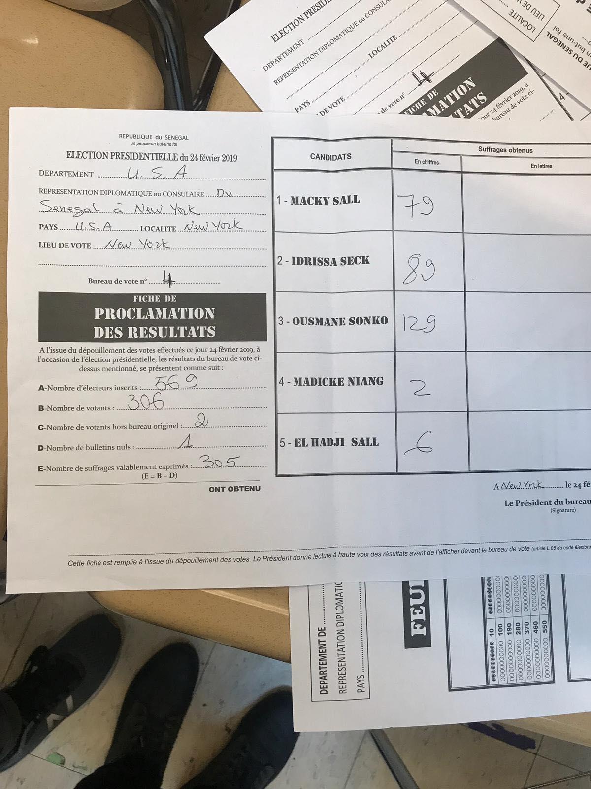 1-2 USA : Les résultats des élections commencent à tomber