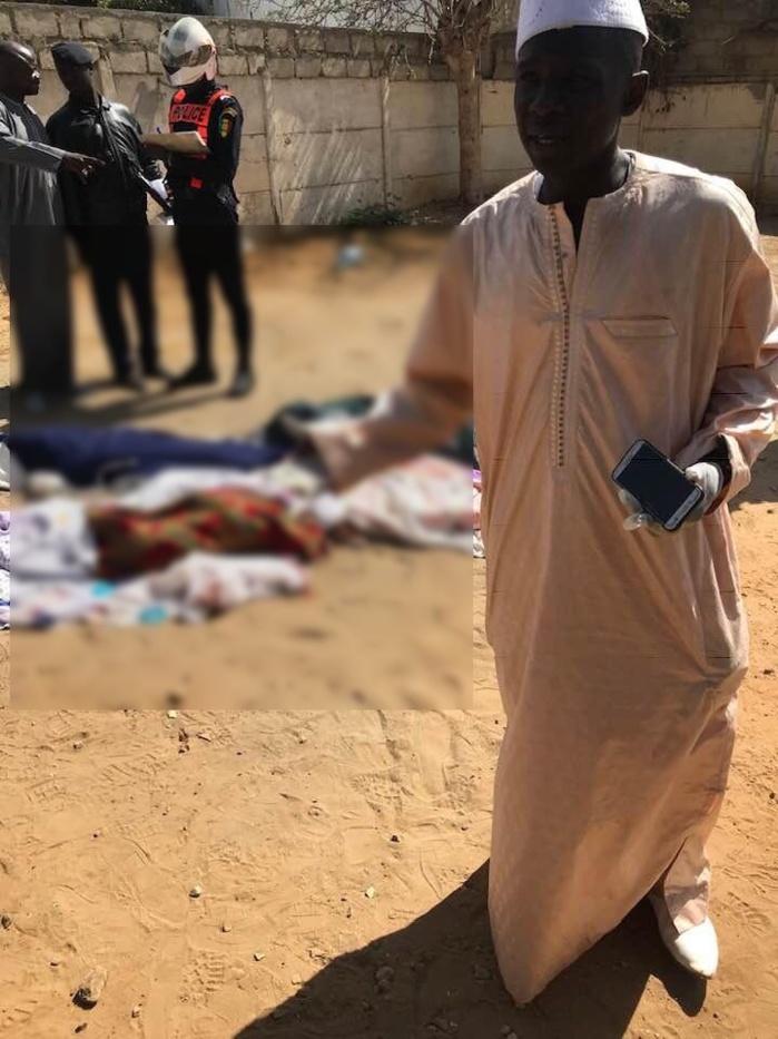 30369300-29018117 Amitié : Voici les images de l'accident ayant occasionné 6 morts et 3 blessés !