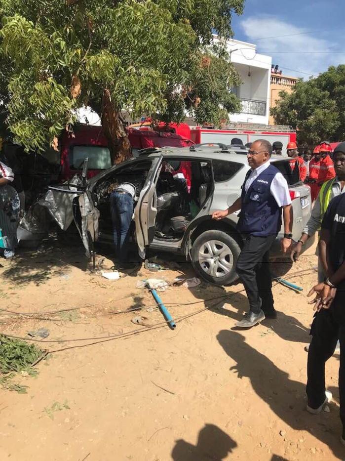 30369300-29018122 Amitié : Voici les images de l'accident ayant occasionné 6 morts et 3 blessés !