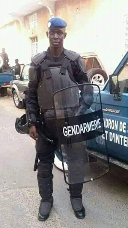 51878995_180756529565835_1866727296627376128_n-1 URGENT - Rond Point Diamniadio : Le gendarme Thierno Diallo Niang meurt heurté par un Camion !