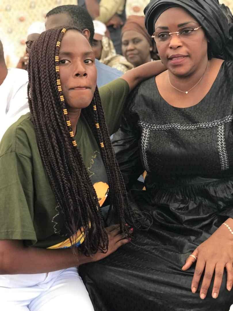 """Sokhou-bb Bébé Sokhna fait exploser de rire Mariéme Faye Sall:""""Gentle président..."""" (Vidéo)"""