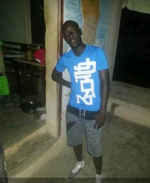 iboudiop1 Voici le militant de l'APR tμé lors des affrontements à Tamba (Photos)