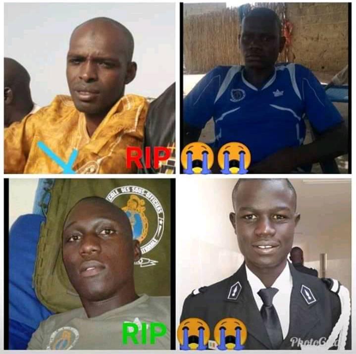 soldats Accident : tout savoir sur les 4 gendarmes qui ont péri aujourd'hui (05 Images)