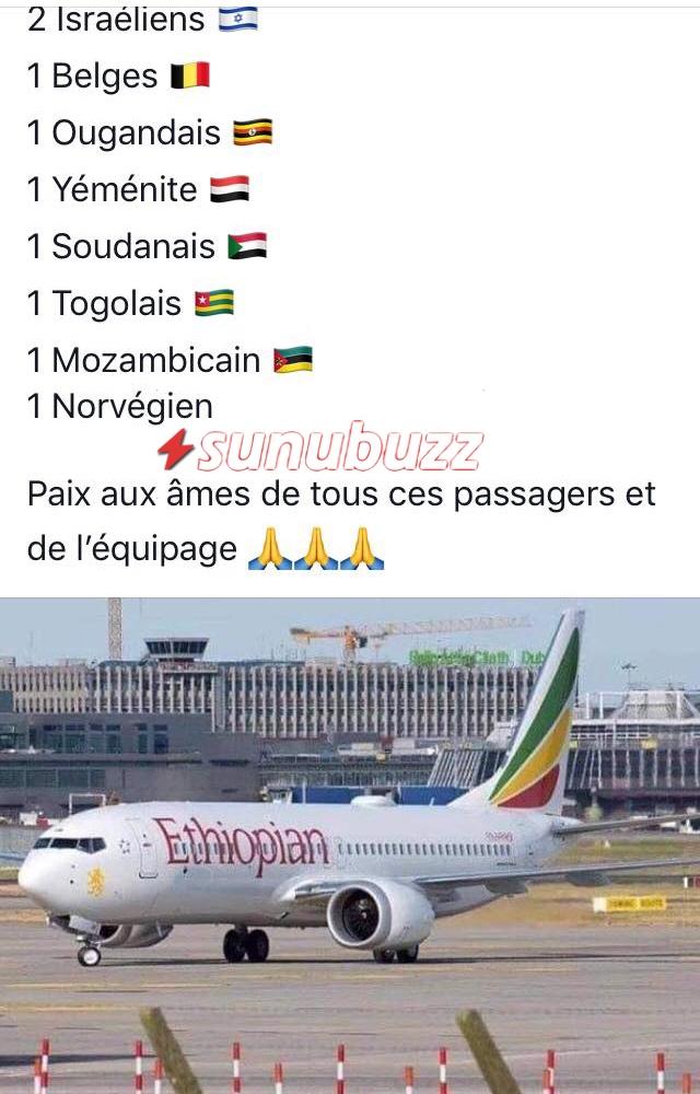4 (URGENT) Ethiopian Airlines : La Sénégalaise enregistrée à bord de l'avion brise le silence et raconte