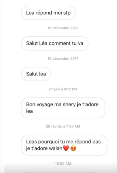 Screenshot-at-mars-22-10-31-25 Victime d'harcèlement, Léa Soukeyna Ndiaye divulgue les messages de…