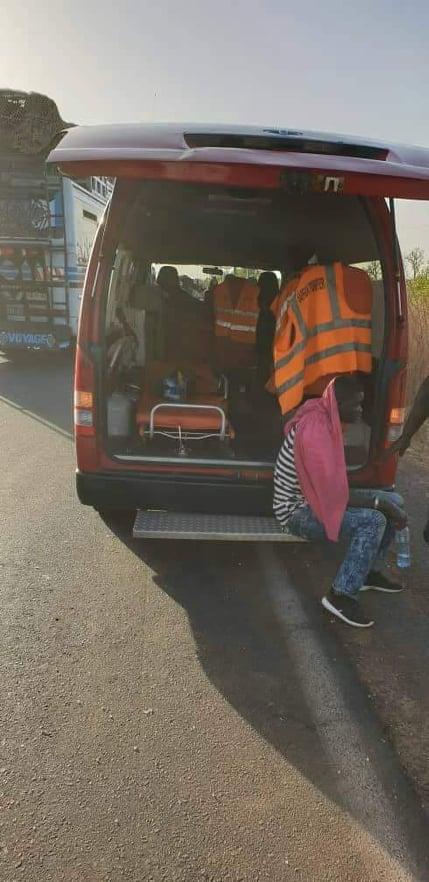 56902448_340281769956235_809162256494362624_n Urgent - Koungheul Accident spectaculaire entre un particulier et un car « Ndiaga Ndiaye »