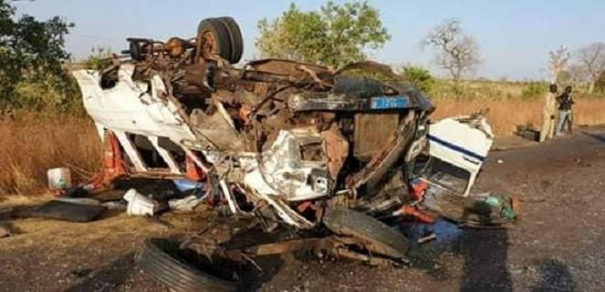56998344_2192541260825232_1177036165425922048_n-1 Urgent - Koungheul Accident spectaculaire entre un particulier et un car « Ndiaga Ndiaye »