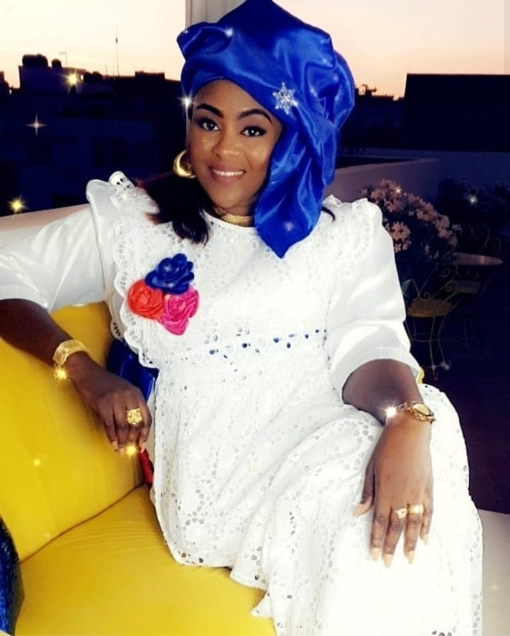 adjia4-1 Keisha Khadija la vedette de la série « Adja » étale toute sa classe dans des tenues chics