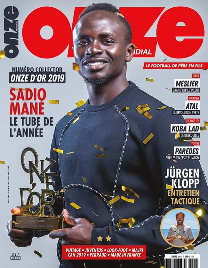 34530297-31569794 Urgent – Onze d'or 2019 : Sadio Mané, lauréat du trophée du meilleur joueur