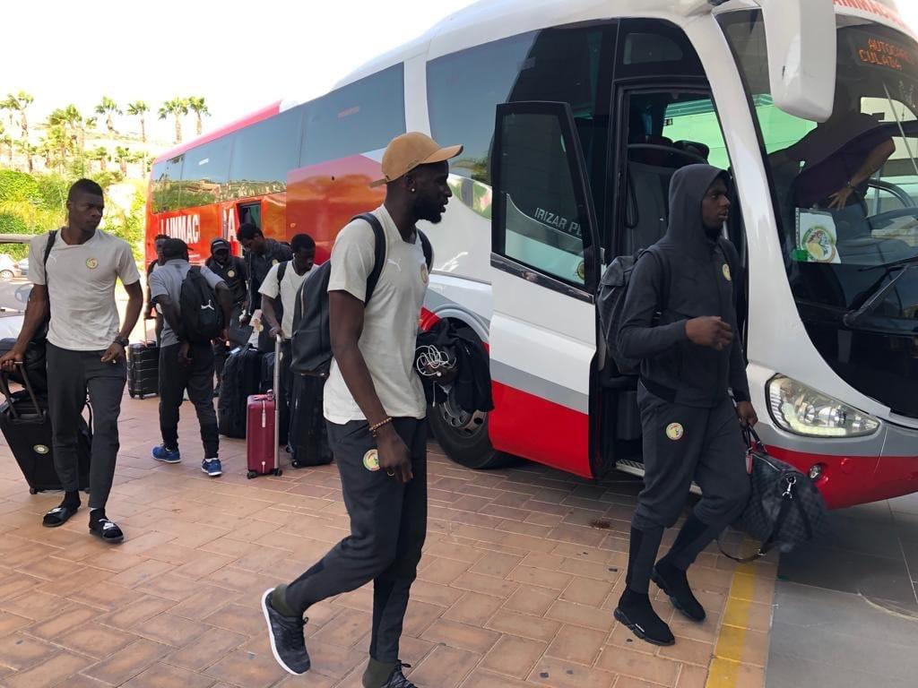 Lions-2 CAN 2019 -  Espagne: l'arrivée des hommes d'Aliou Cissé (photos)