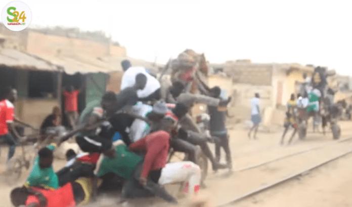 Thiaroye : un accident de charrette sur les rails défraie la chronique (vidéo)