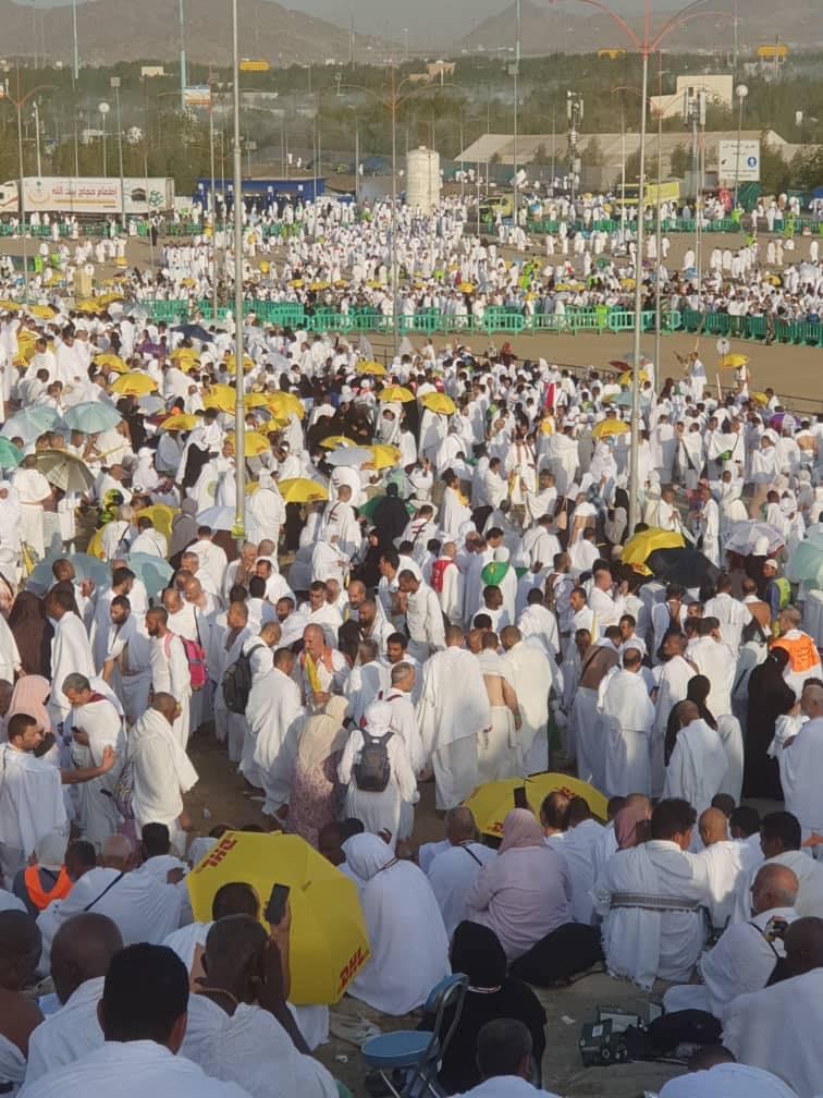 67722354_636605363492688_2665009099585880064_n-1 Hadj 2019 - Arafat: Wilane en plein Shooting (Photos)
