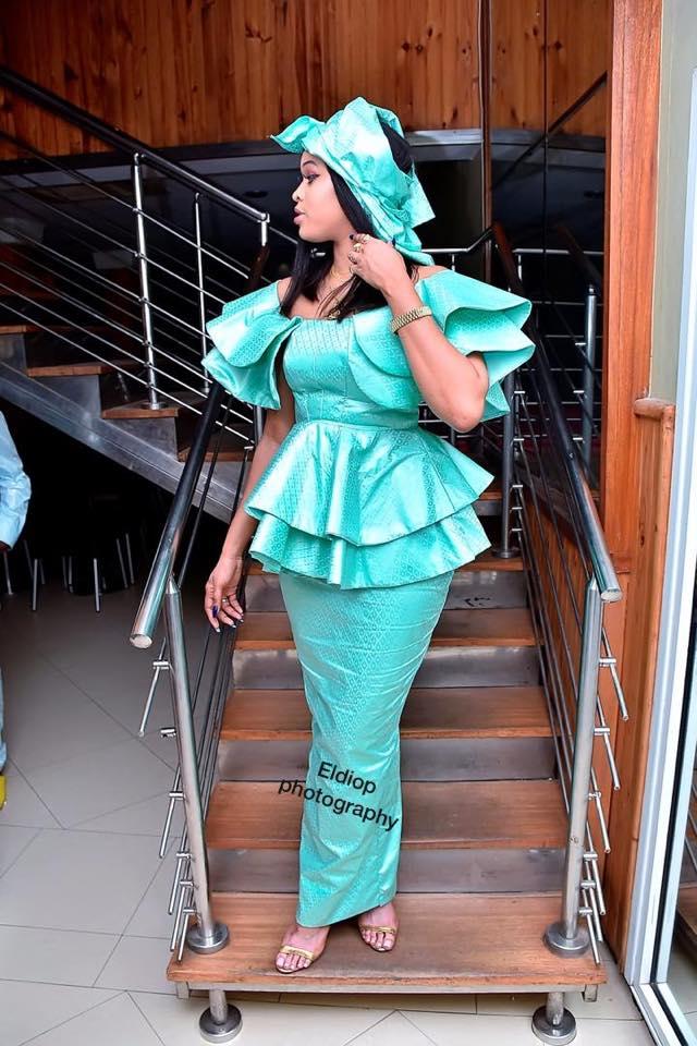68865634_2341436805946982_6861796200568324096_n Tabaski 2019 : La taille basse bien taillée de la miss Ndeye Astou (photos)