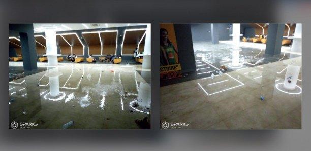 87a14c4212003f40bd4a03dadbd4ed58a53d016d Arrêt sur images - Dakar Aréna : Le hall des Vip inondé par la pluie (photos)