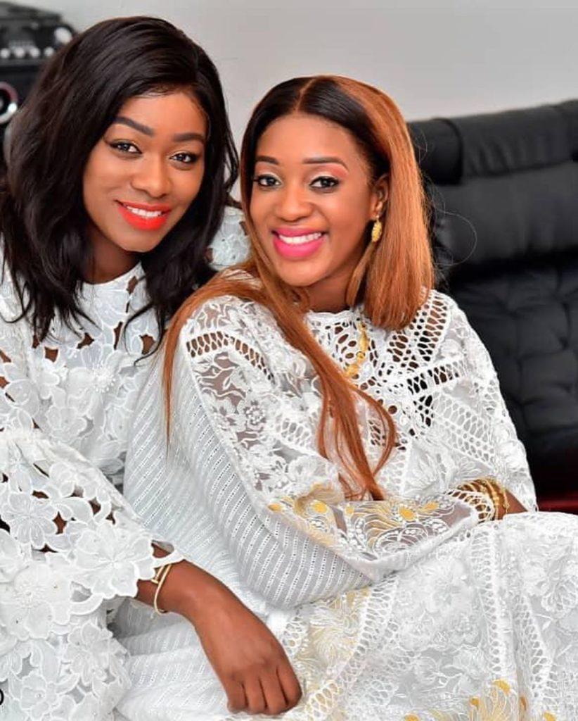 ZAKHRA-1-822x1024 Tabaski: Les « sagnsé » VIP de Bijou Ndiaye et Zahra la femme de Kouyaté (photos)