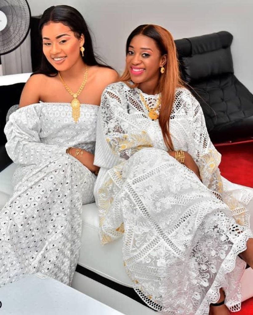 ZAKHRA-2-822x1024 Tabaski: Les « sagnsé » VIP de Bijou Ndiaye et Zahra la femme de Kouyaté (photos)