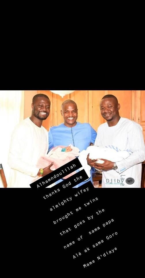 fata-4 Carnet Rose : Baptême des jumeaux Alé et Mame Ndiaye du rappeur Fata