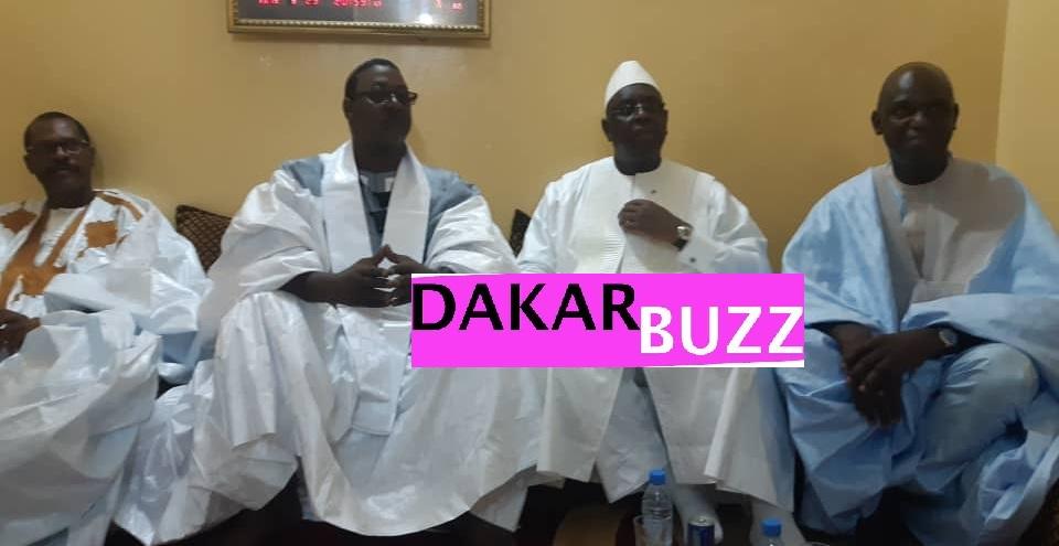 MACKY-SALL-2 (photos) Le président Macky Sall fait une descente chez les « goros » d'Amadou Sall